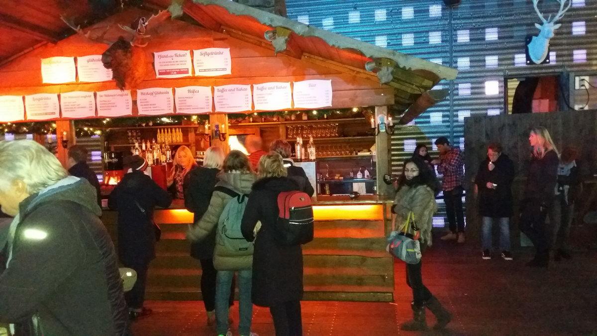 Winterdeck Spielbudenplatz Hamburg