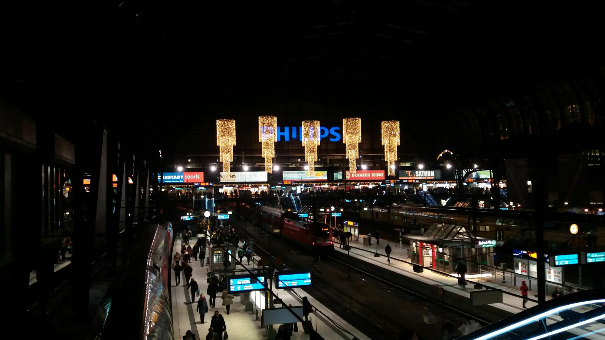 Saturn Weihnachtsbeleuchtung.Weihnachtsbeleuchtung Hamburg Hauptbahnhof Bilder Hamburg
